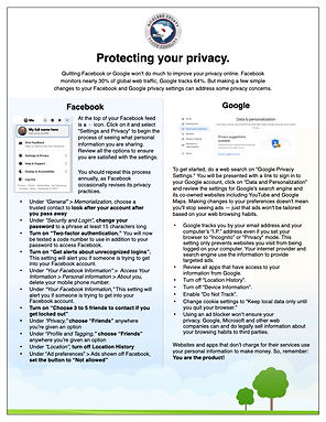 Richland County | Protect Your Privacy J