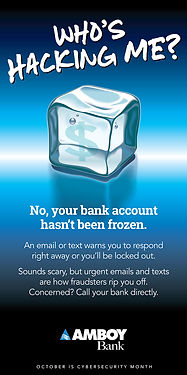 Frozen Account-Cybersecurity Month-amboy