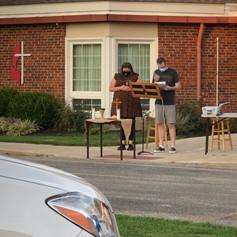 Drive in Communion Service