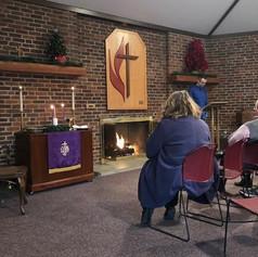 8:00 Communion Service in Fireside Room