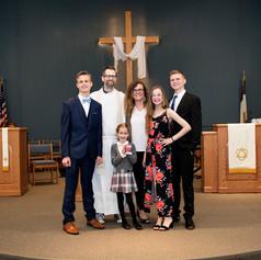 Pastor Adam and family