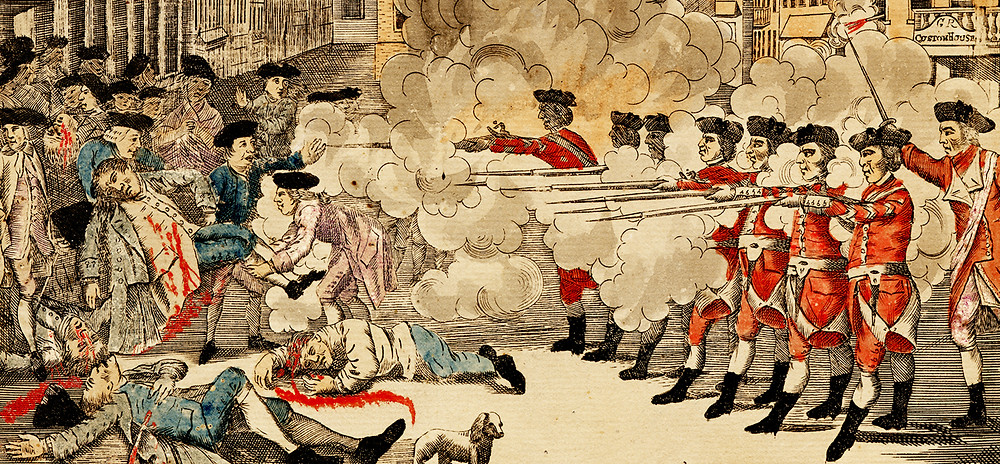 The Incident on King Street or Boston Massacre?  Depends on your point of view.