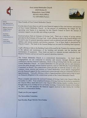 Stewardship Campaign Letter.jpg