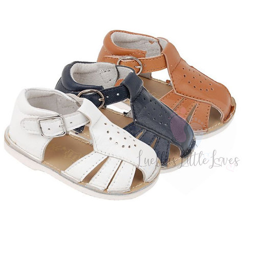 Bertie Leather Sandals - 3 Colours