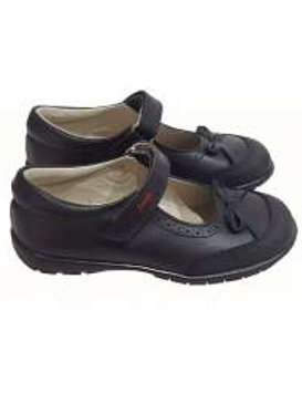Bambi Leather School Shoes