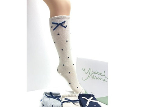 Dotty Bow Socks