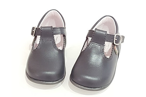 School Bambi Leather TBar Shoes - 3 Colours