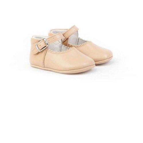 Citos Leather Mary Janes Pram Shoes