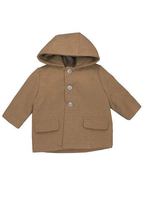 Del Sur Coat with Hood - Camel