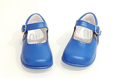 School Bambi Leather Mary Janes - 4 Colours