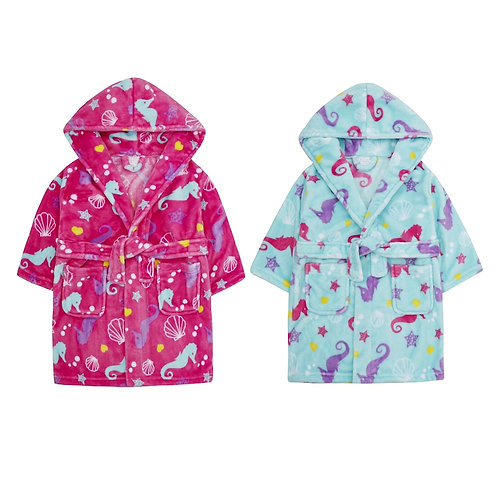 Sea Horse Dressing Gown