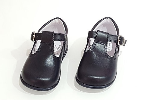 Bambi Leather TBar Shoes - 8 Colours