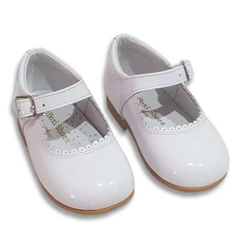 White Cocoboxi Mary Janes
