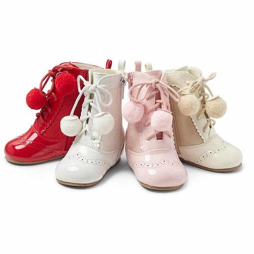 Sienna Pom Pom Boots