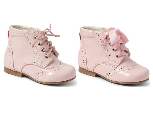 Sevva Quinn Boots, with satin & waxed laces
