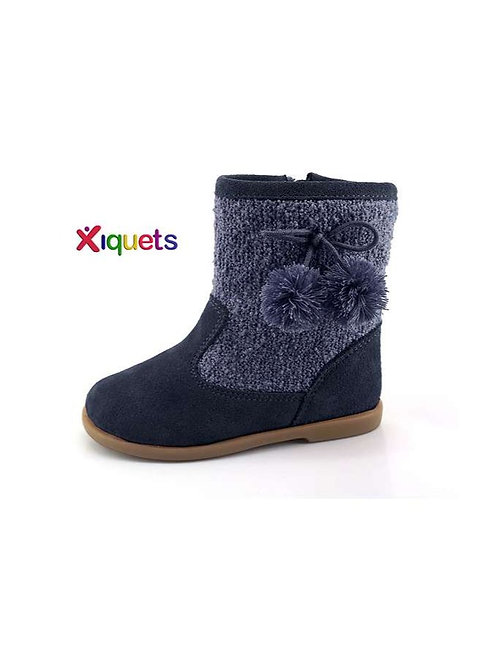 Xiquets Suede Pom Boots
