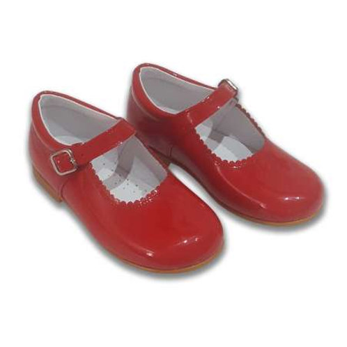Red Cocoboxi Mary Janes