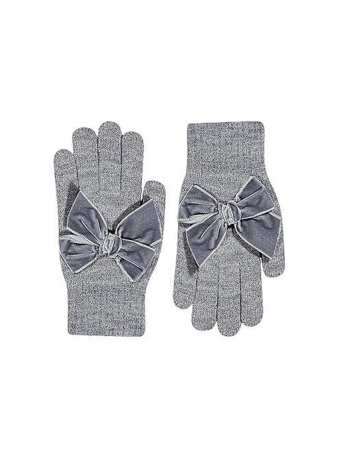 Condor Velvet Bow Gloves