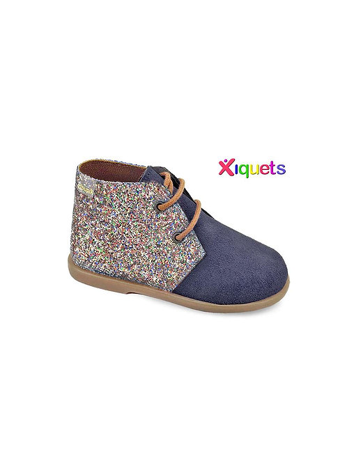Xiquets Glitter Suede Boots