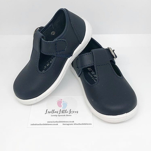 Leather T-Bar Shoes