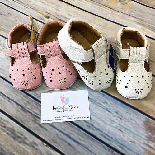 Jenny Pram Shoes - 3m - 12m