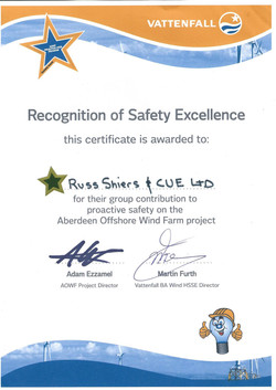 Safety Excellence Vattenfall