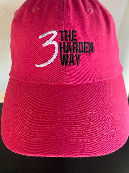 3TheHardenWay Cancer Awareness PINK Hat