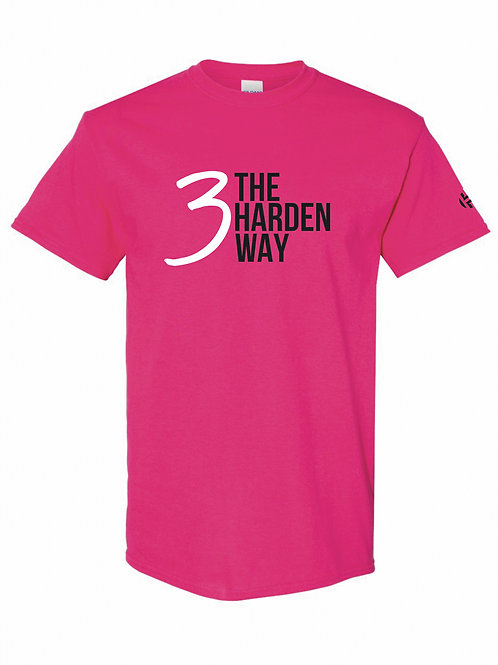 3TheHardenWay Cancer Awareness PINK Shirt