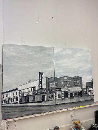 Saskatoon I Know by Wendy Sharpe artist.