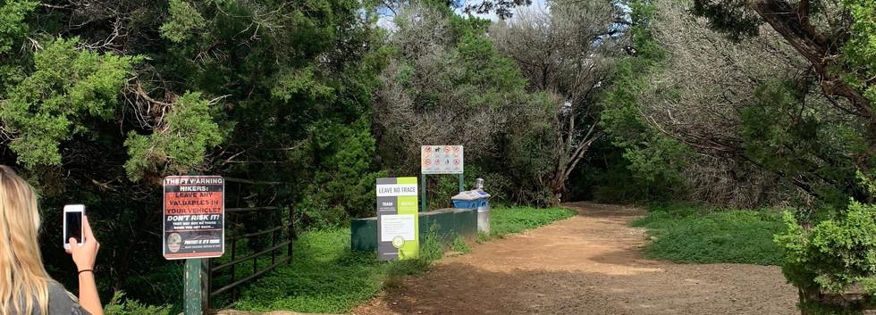 Greenbelt: Trailhead
