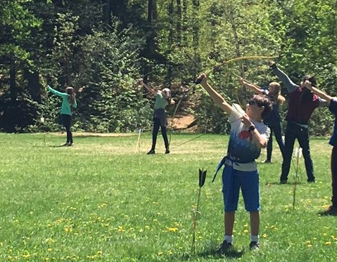 6th Grade Embarks on Medieval Games