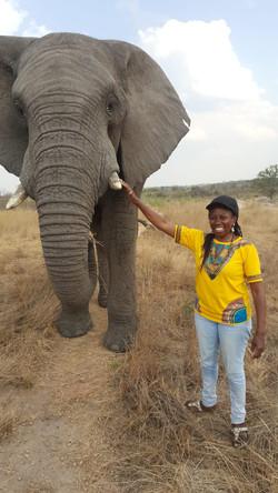 Elephant and Shanice