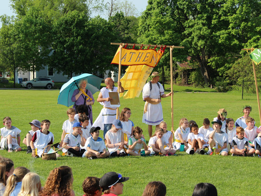 Let the Games Begin! Pentathlon Brings Ancient Greece to Life for Fifth Graders