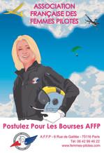 L'AFFP encourage les jeunes femmes pilotes !