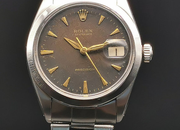 Rolex Vintage Oysterdate Tropical dial Ref: 6694 - MTH1x725
