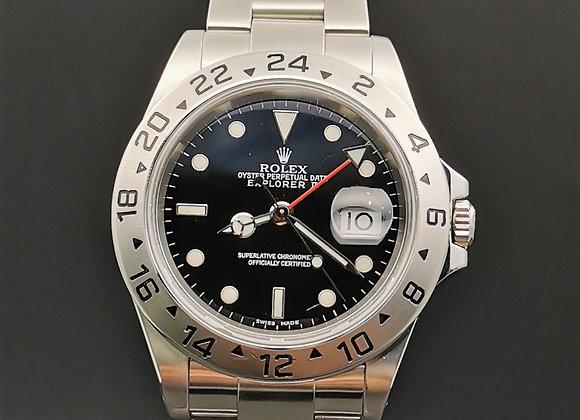 Rolex Explorer II16570 Black dial, K series, B/P 2002