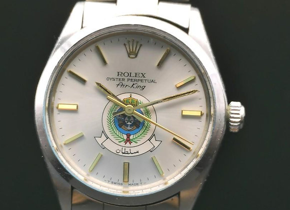 Rolex vintage Air king Saudi Arabia dial, watch only.