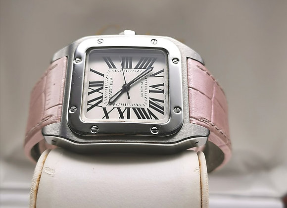Cartier Santos 100 Medium steel - MTG1x733