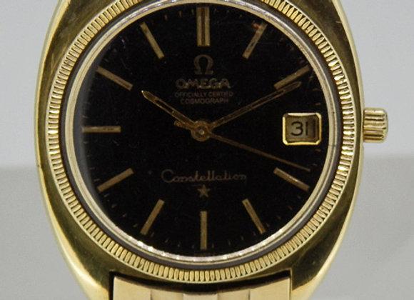 Omega Constel Mens Gold - 7588