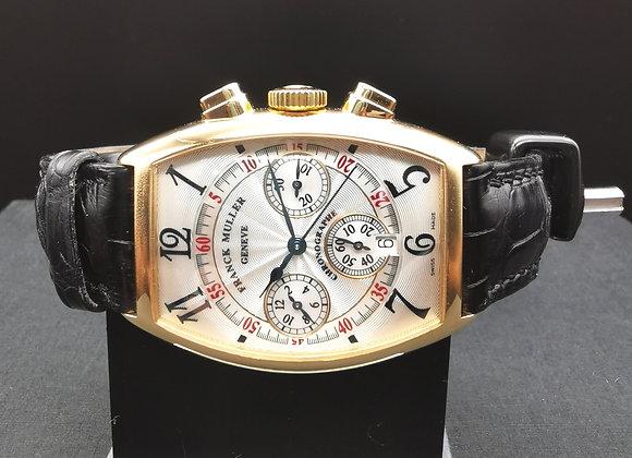 Franck Muller Casablanca Rose Gold Chronograph - CMM66