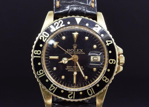 Rolex vintage GMT Master Gold 1675-8, B/P