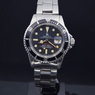 Rolex vintage Red Submariner Ref: 1680, 3.3 mil series, B/P undated.