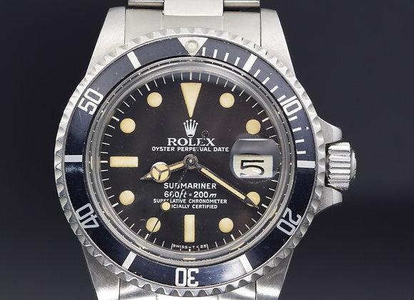 Rolex Submariner 1680,full set 1980 - MTH1x893`