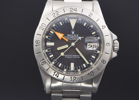"""Rolex vintage Explorer II 1655 """"Steve Mcqueen"""", watch only."""
