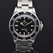 Rolex Submariner 5513, 8.6 mil series, B/P
