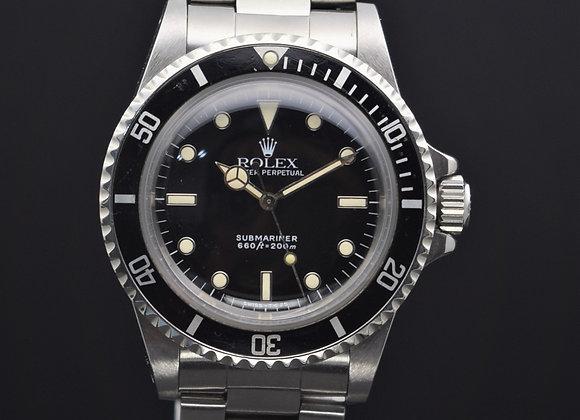 Rolex Submariner 5513, 8.6 mil series, B/P