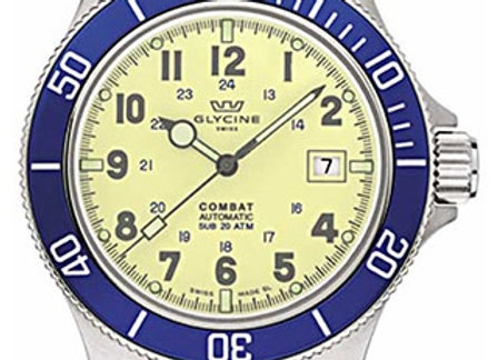 GLYCINE COMBAT BLUE & YELLOW (LNIB) - ILC96