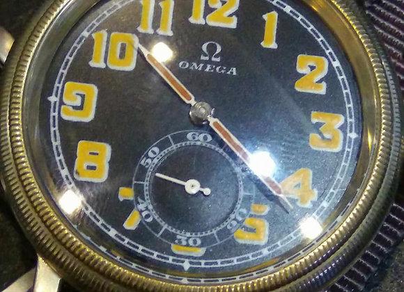 Omega Vintage Pilot Watch - 9965