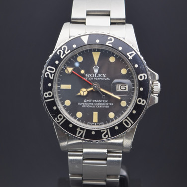 Rolex Vintage GMT Master 1675, 5.11 mil series, watch only