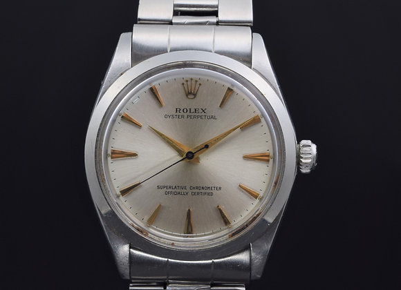 Rolex Vintage Oyster Perpetual 1002, 1.1 mil series, papers 1966